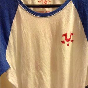 True Religion Allstar Horseshoe shirt xxl